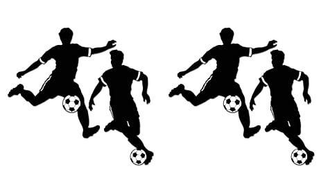 beistle 52211 4piece boy soccer silhouettes 275
