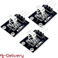 AZDelivery 3 x KY-022 Set de IR Receptor