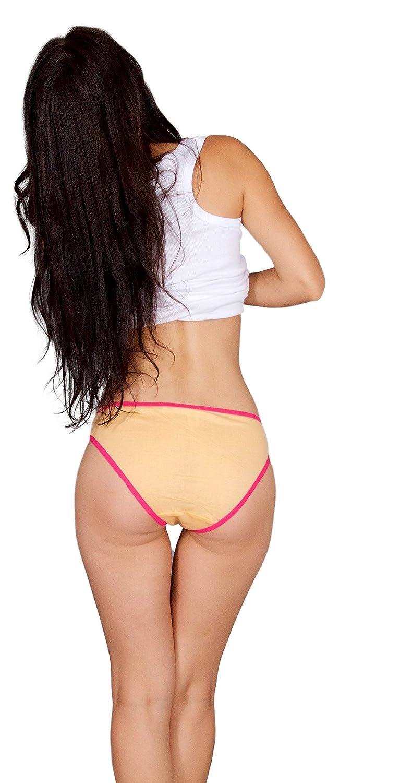 Emprella Women Underwear, 10 Pack Womens Panties Cotton Bikini Seamless Lady Panty S-XXL at Amazon Womens Clothing store: