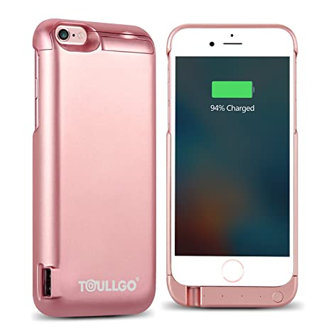 Funda Batería iPhone 6s Funda Batería iPhone 6 ToullGo ...