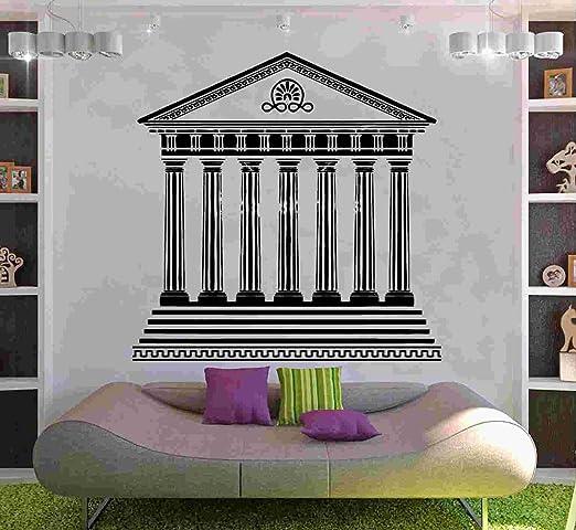 Kult Kanvas Templo Griego 1 Adhesivo Decorativo para Pared Arte ...