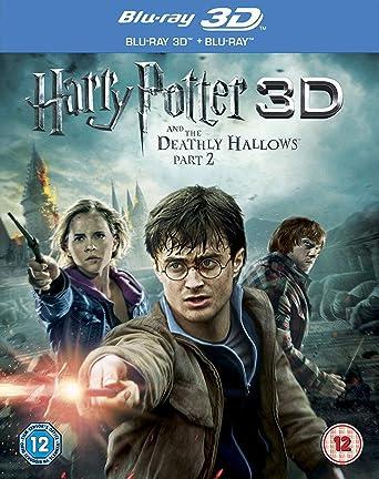 Harry Potter And The Deathly Hallows Part 2 Blu-ray 3D + Blu-ray + DVD + Digital Copy Reino Unido Blu-ray: Amazon.es: Daniel Radcliffe, Emma Watson, Rupert Grint, Ralph Fiennes, Helena Bonham Carter,