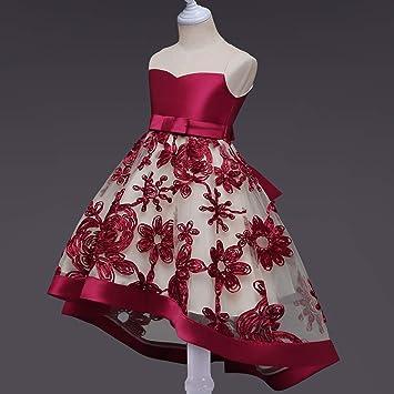 Qz Vestido De Niña Vestido De Niña De Las Flores Para Niñas