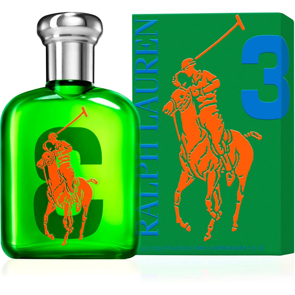 The Big Pony Collection 3 by Ralph Lauren for Men Eau De Toilette Spray, 2.5 Ounce by RALPH LAUREN