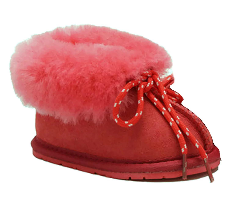 f11cef53643 CooL BeanS Sheepskin Children's Slippers Warm Fur Winter Boots (Boys,  Girls: Baby/Toddler/Little Kids)