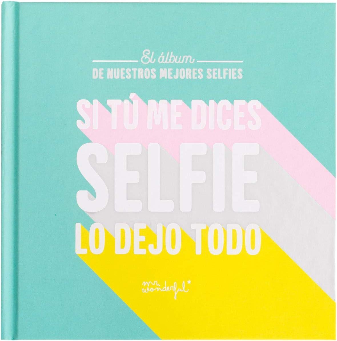 Mr. Wonderful Álbum de Fotos para Selfies - Si tú me Dices ...