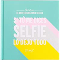 Mr. Wonderful Álbum de Fotos para Selfies - Si tú me Dices, Multicolor, Única