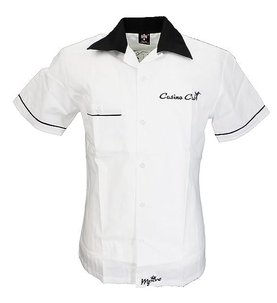 meet b9a57 26e29 Warrior - Camicia Casual - all'Inglese - Maniche Corte ...
