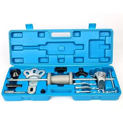 Kit de herramientas para la extracción de rodamientos de ruedas de FreeTec, 17 piezas