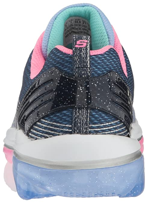 Skechers Junior Girls Air Deluxe Trainers Blue 81195L LBNV