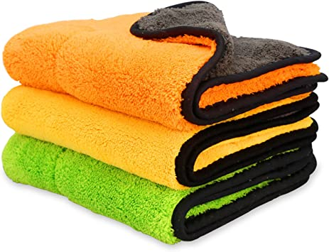 1x LARGE MICROFIBRE CLEANING AUTO CAR DETAILING CLOTHS WASH TOWEL DUSTER Remover