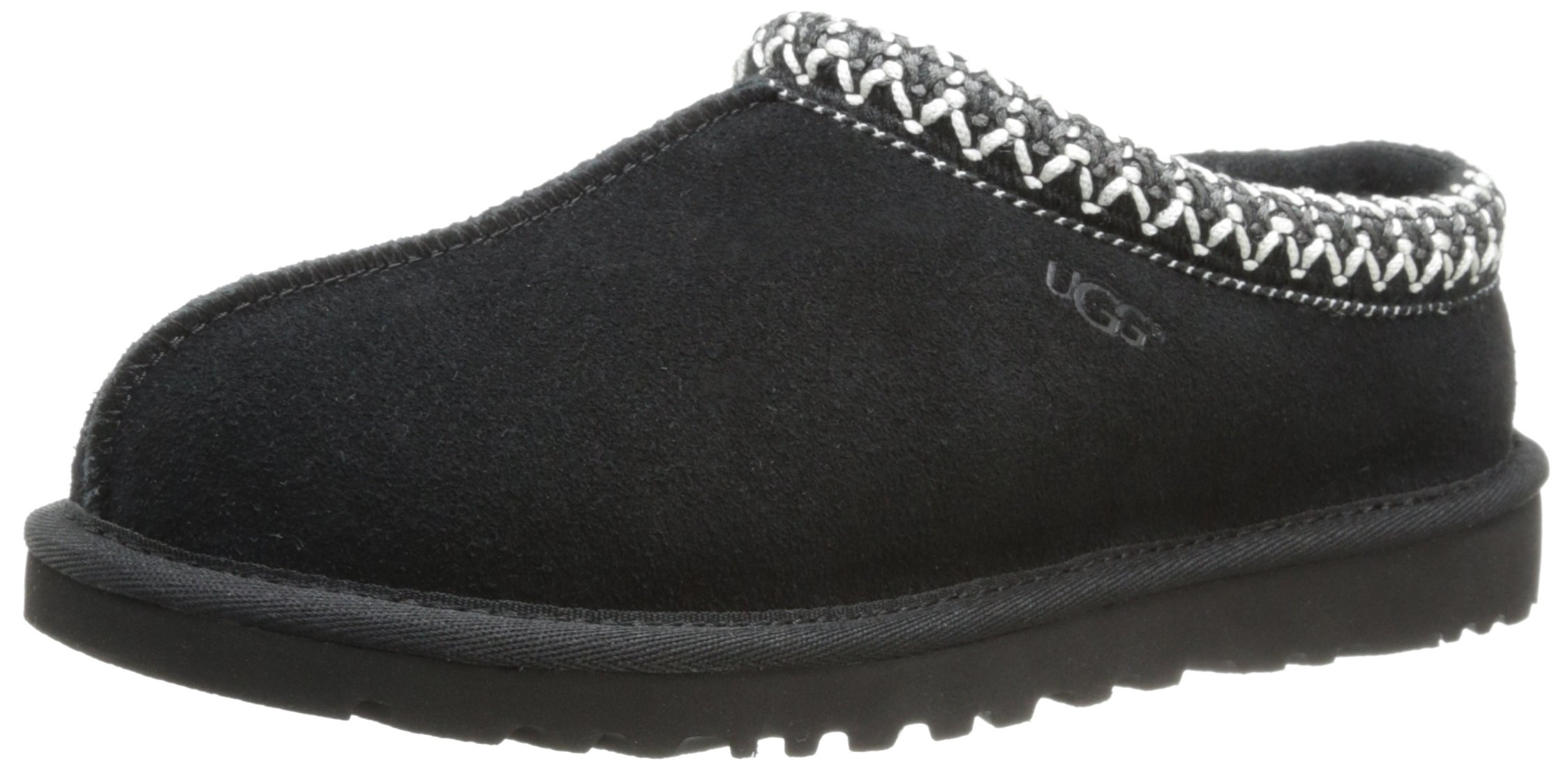 UGG Women's Tasman Slipper, Black, 6 US/6 B US