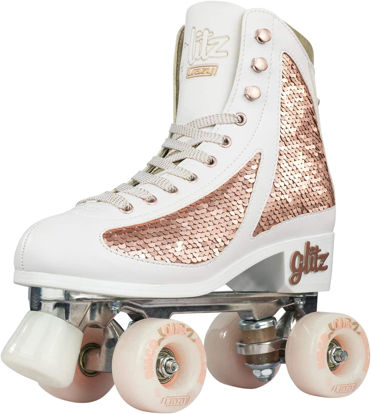 Crazy Skates Glitz Roller Skates for Women and Girls