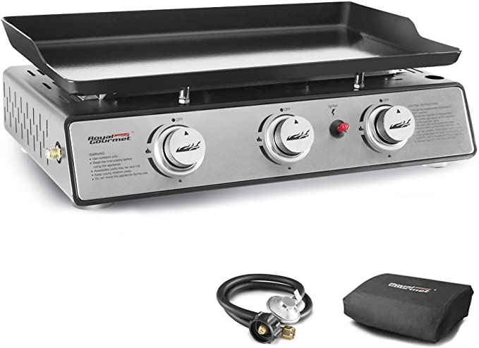 Royal Gourmet PD1301S Portable 3-Burner Table Top Gas Grill - The Most Durable