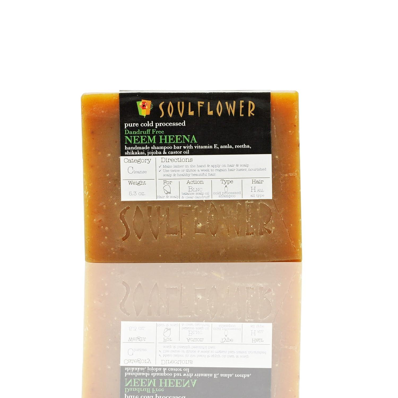 new Neem Oil-Heena Shampoo Soap Bar (Pack of 2) by