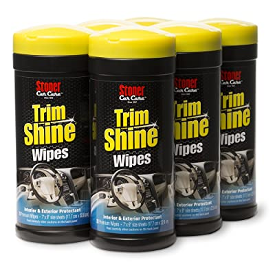 Stoner Car Care 90034-6PK Trim Shine Protectant Wipe - 6-Pack (28-Count): Automotive