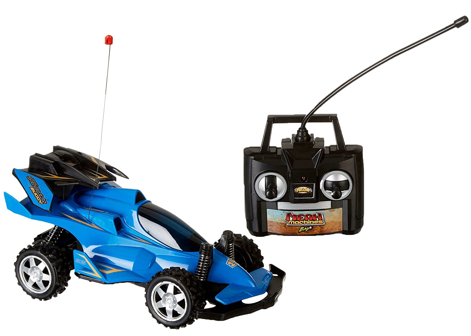 Amazon.com: Mean Machine RC Radio Controlled Vehicle Stealth Buggy ...