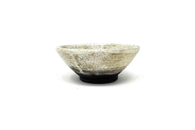 Japanese Tea Bowl Ceramic Raku 4.5