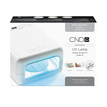 Perfect CND Shellac Light Official UV Lamp   (Use With CND Shellac Color Coat Gel  Nail