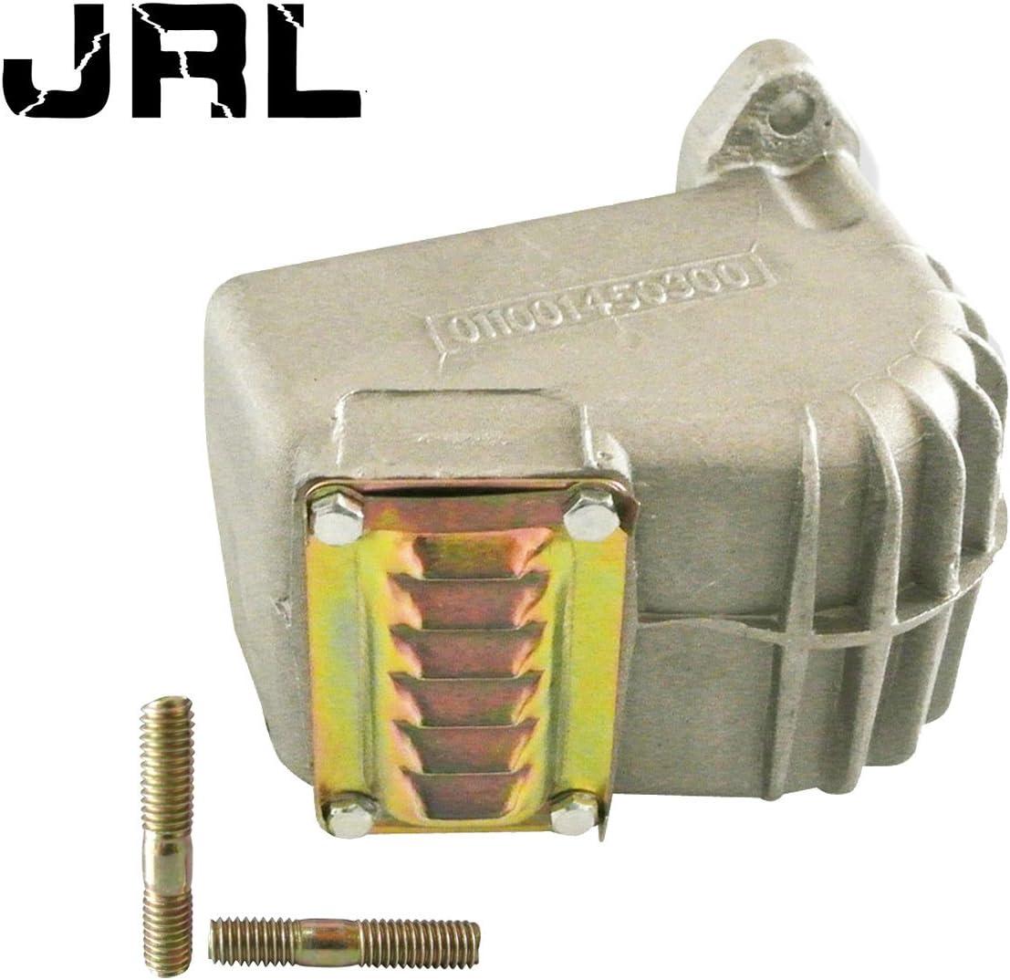 JRL Silenciador de escape con tacos silenciadores para motosierra STIHL 070 090