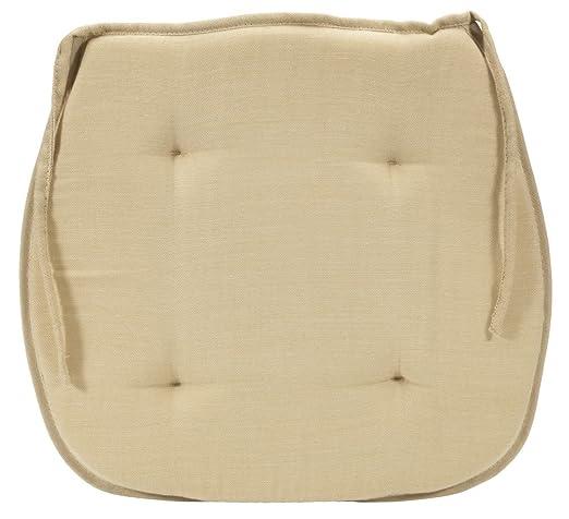 JYSK silla cojín Roxen 36 x 34 x 3 cm color crema: Amazon.es ...
