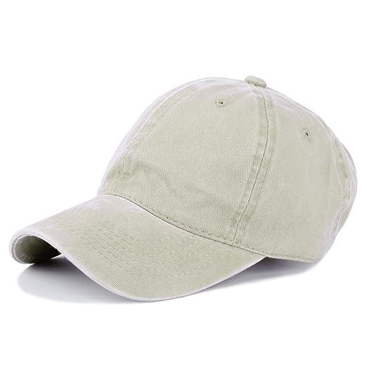 c2951eb1e00 Moutidoors 100% Cotton Wash Color Baseball Cap (Beige) at Amazon ...