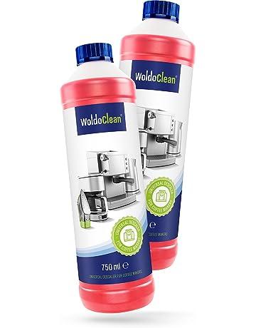 WoldoClean Set de limpieza para cafeteras automáticas descalcificador 750ml pastillas de limpieza