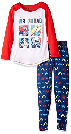 d483883659 Amazon.com  Komar Kids DC Super Hero Girls Pajamas (12