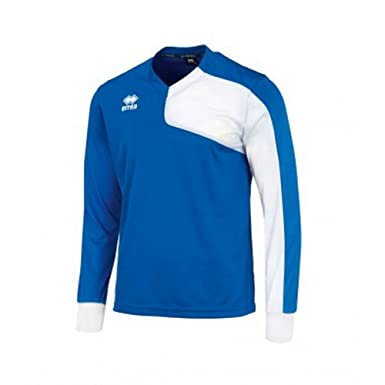 Errea Childrens/Kids Marcus Long Sleeve Football Shirt (XXS) (Blue/White