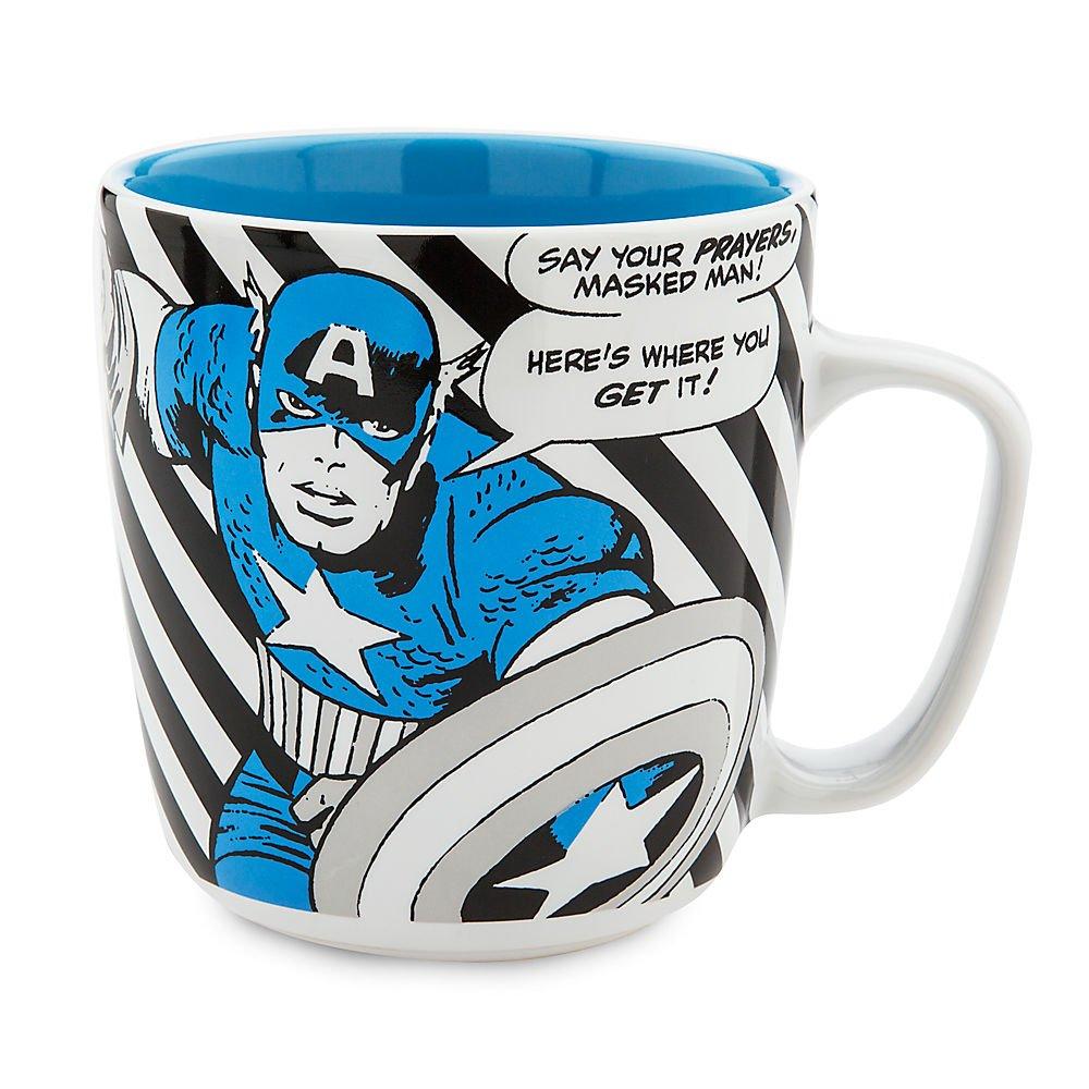 Marvel Captain America Marvel Comic Book Mug