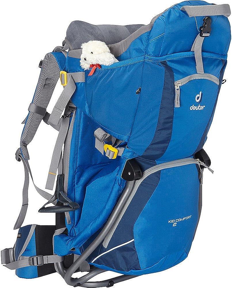 Amazon Com Deuter Kid Comfort 2 Child Carrier Arctic Denim One Size Deuter Sports Outdoors