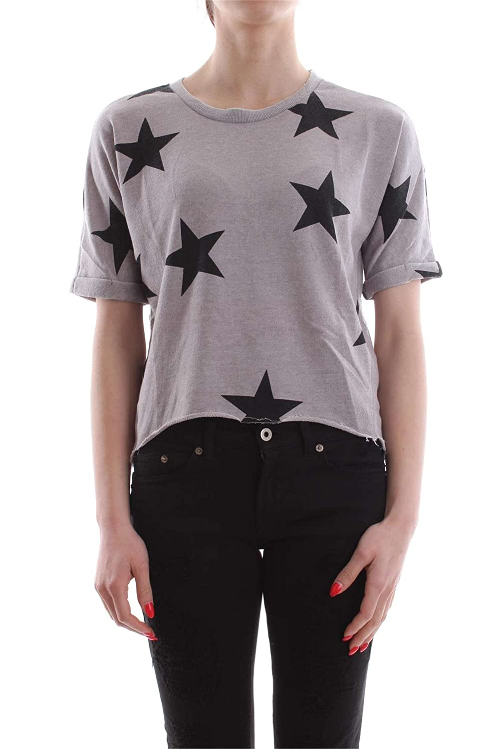 Only Onlsienne S/S Star Swt Sudadera para Mujer