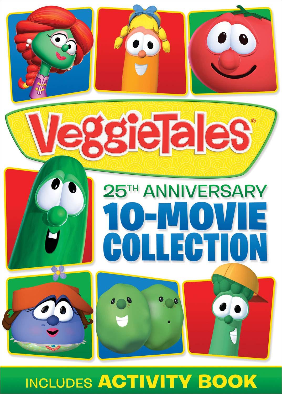 Amazon.com: VeggieTales: 25th Anniversary 10-Movie Collection: Mike  Nawrocki, Phil Vischer, Dave Anderson, Adam Frick, Trevor Devall, Tim  Hodge, ...