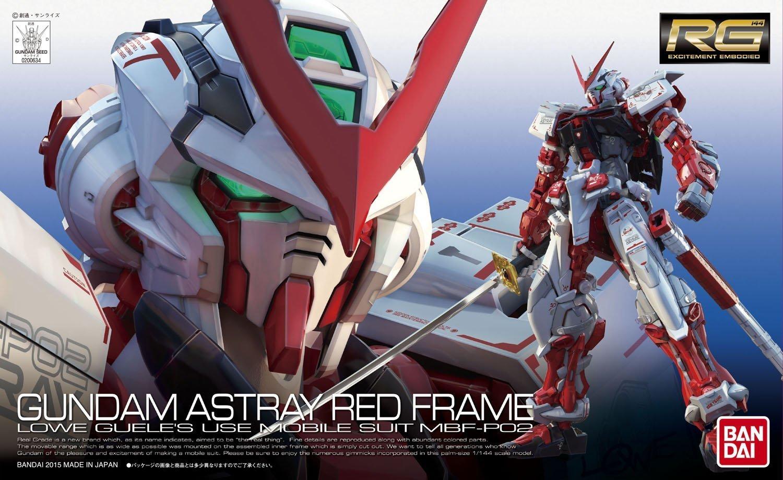Bandai Hobby 1/144 RG Gundam Astray Red Frame Action Figure by Bandai Hobby