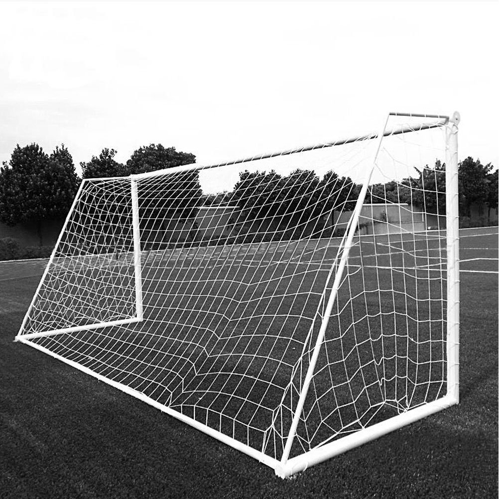 Aoneky Soccer Goal Net - 24 x 8 Ft - Full Size Football Goal Post Netting - NOT Include Posts (10 x 6.5 Ft - 2 mm Cord)