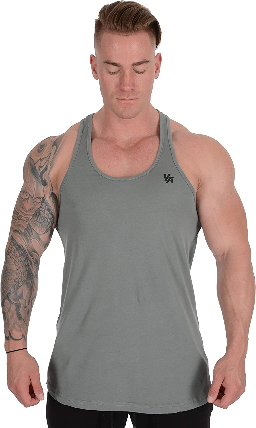 YoungLA Stringer Tank Tops Men Workout Muscle Y Back Gym 302