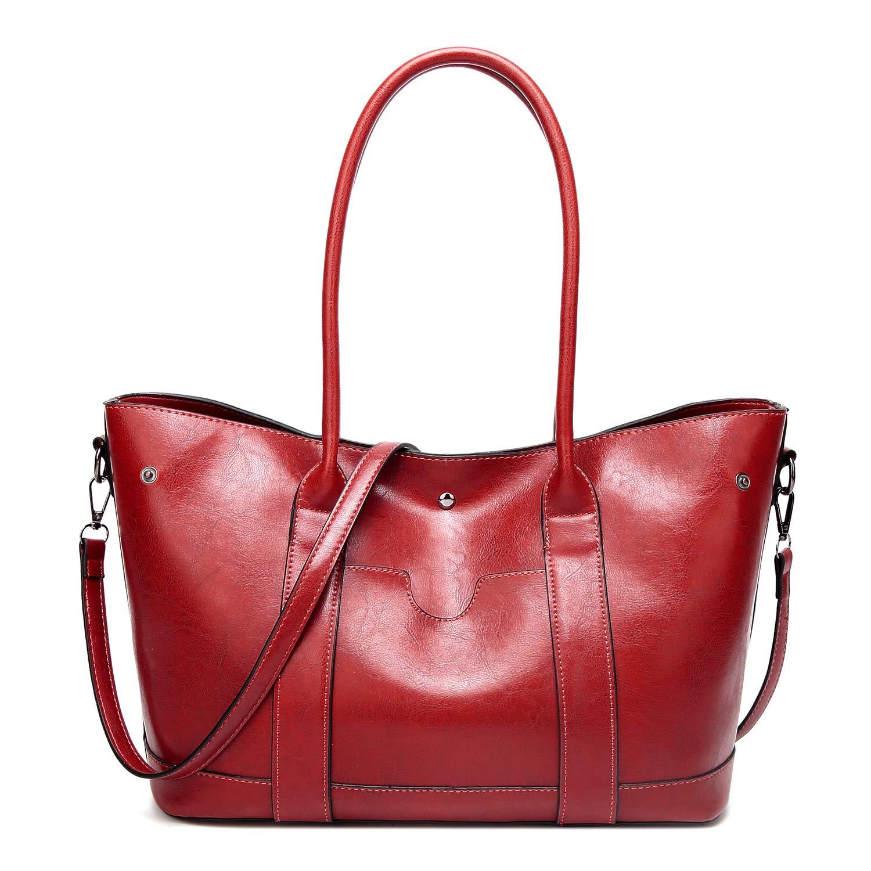 Pu Leather Womens Portable Handbags Tote Bag Shoulder Bag Purse