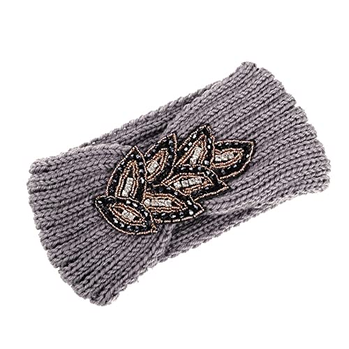 TININNA–Diadema, banda elástica para el cabello, de punto, lana, para mujer o niña