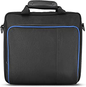 Portable PS4 Bag, Travel Storage Carrying Case Protective and Waterproof Bag with Adjustable Shoulder Strap Specified Handbag For PlayStation PS4