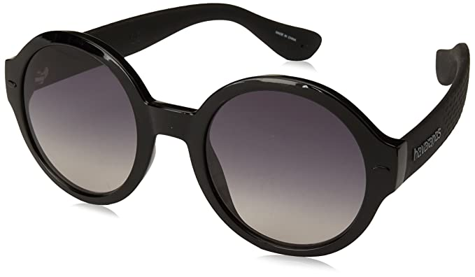 Havaianas Sunglasses FLORIPA/M, Gafas de Sol para Mujer, Negro (Black)