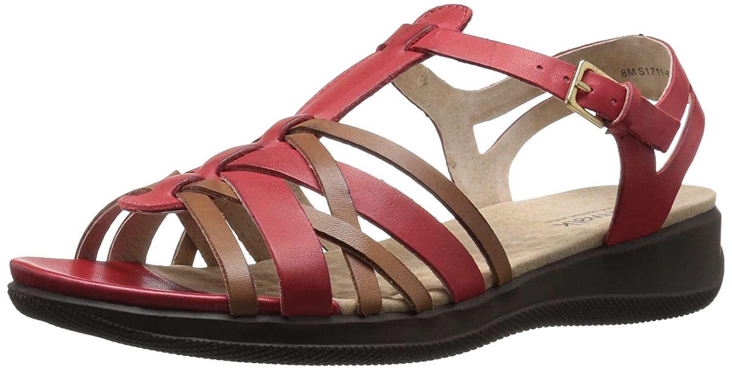 SoftWalk レディース S1711_278 B01HQX1TXK 5.5 B(M) US|Red/Tan Red/Tan 5.5 B(M) US