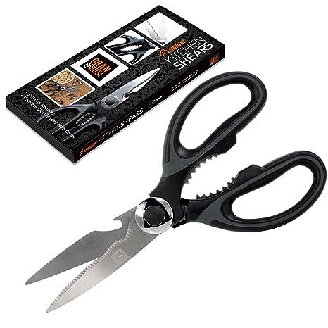 Amazon.com: Tijeras de cocina de acero inoxidable con ...