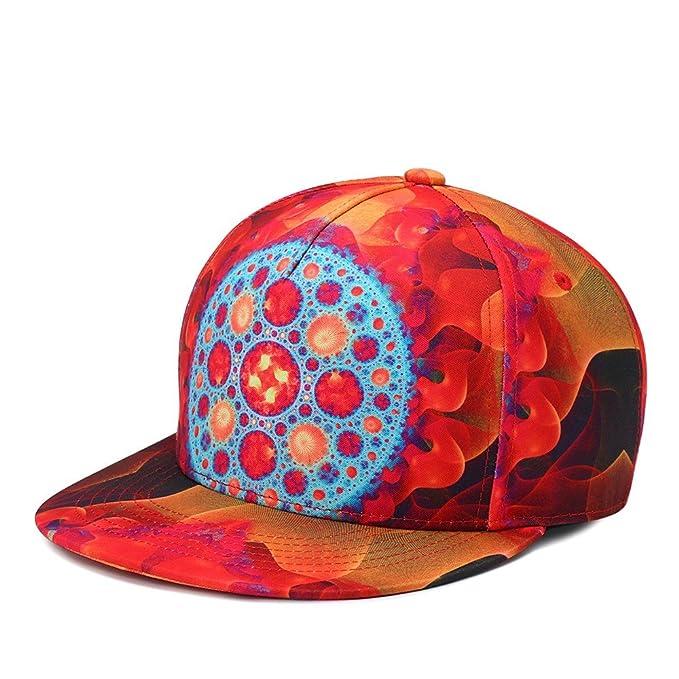 Huoduoduo Sombreros y Gorras Gorras de Béisbol Los Hombres y Las Mujeres  neutros Hiphop Street Dance Hip Hop de Impresión en 3D Gorra de Béisbol   Amazon.es  ... 7c4c929addb