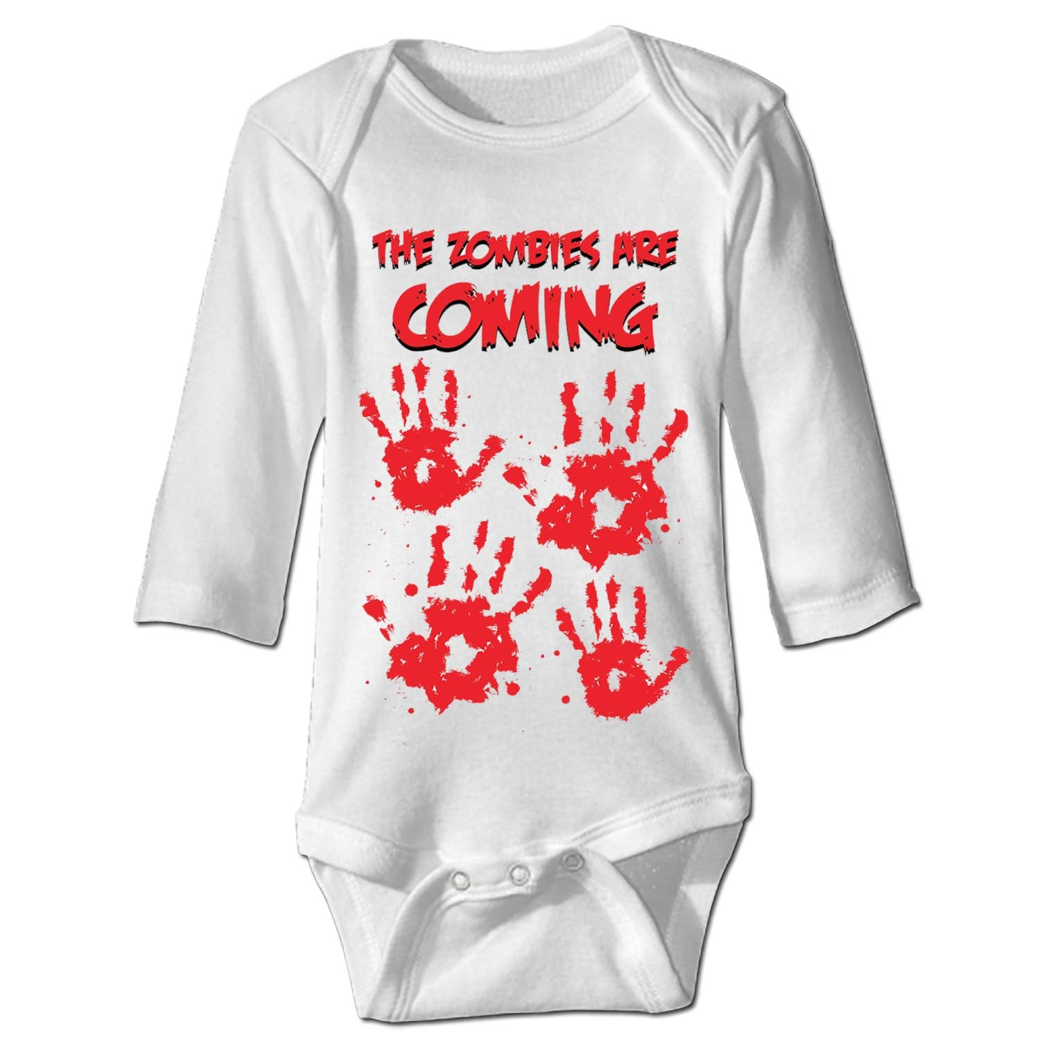 Baby Clothing Zombies Coming Funny Baby Bodysuit