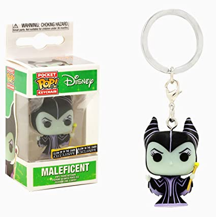Funko POP! Keychain - Disney - Maleficent [GITD] - [Exclusive!]