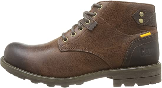 Caterpillar Newcastle Mens Boots in Brown | Shoes