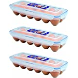 Lock & Lock Eggs Dispenser, Holder for 12 Eggs (3)