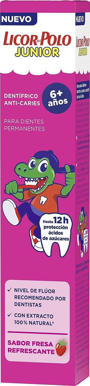 Licor del Polo - Tubo Junior +6 Años - Sabor Fresa - 75ml: Amazon ...