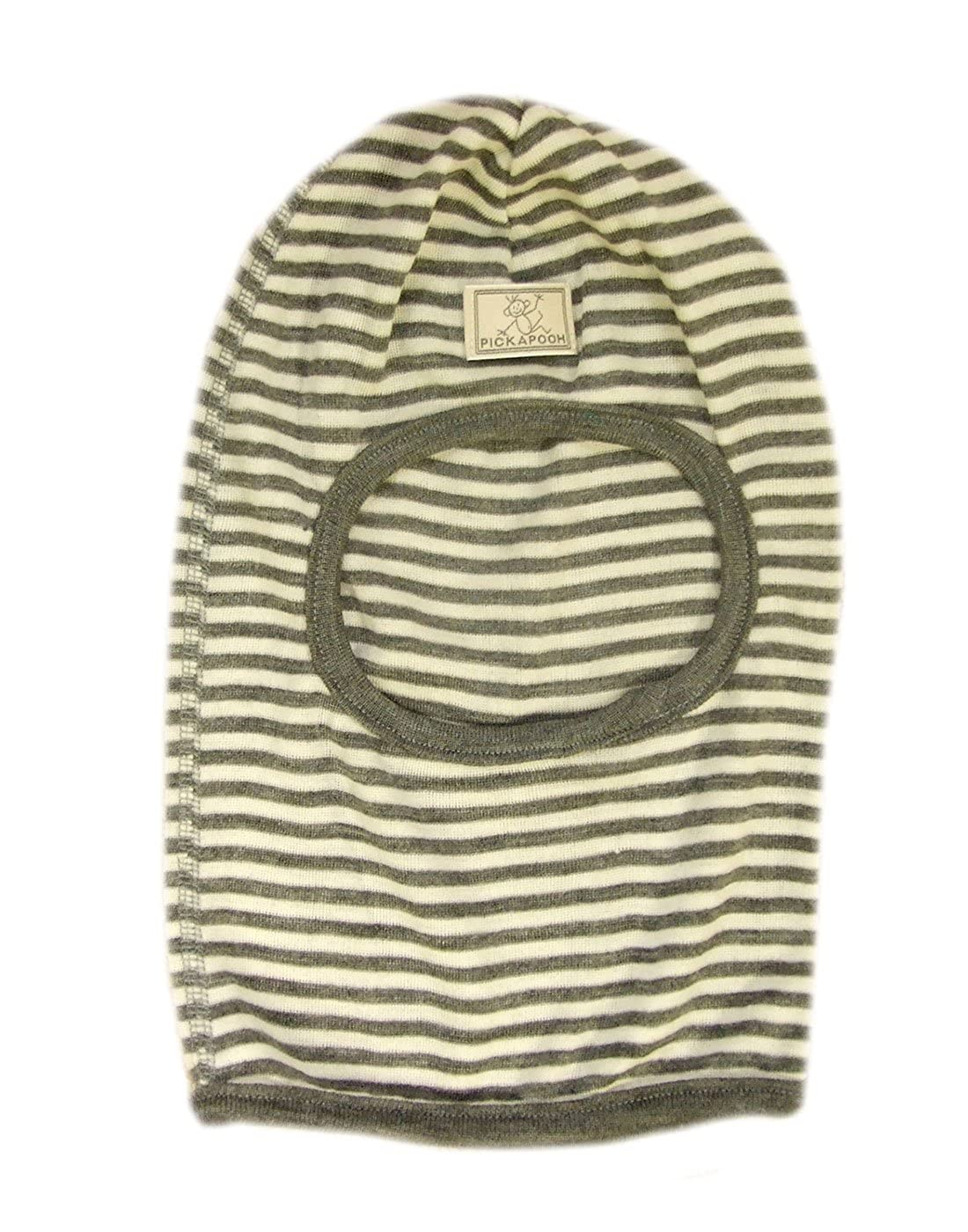 PICKAPOOH Hat MERINO wool SILK Balaclava Baby Boy Girl Children Winter Organic Bosse