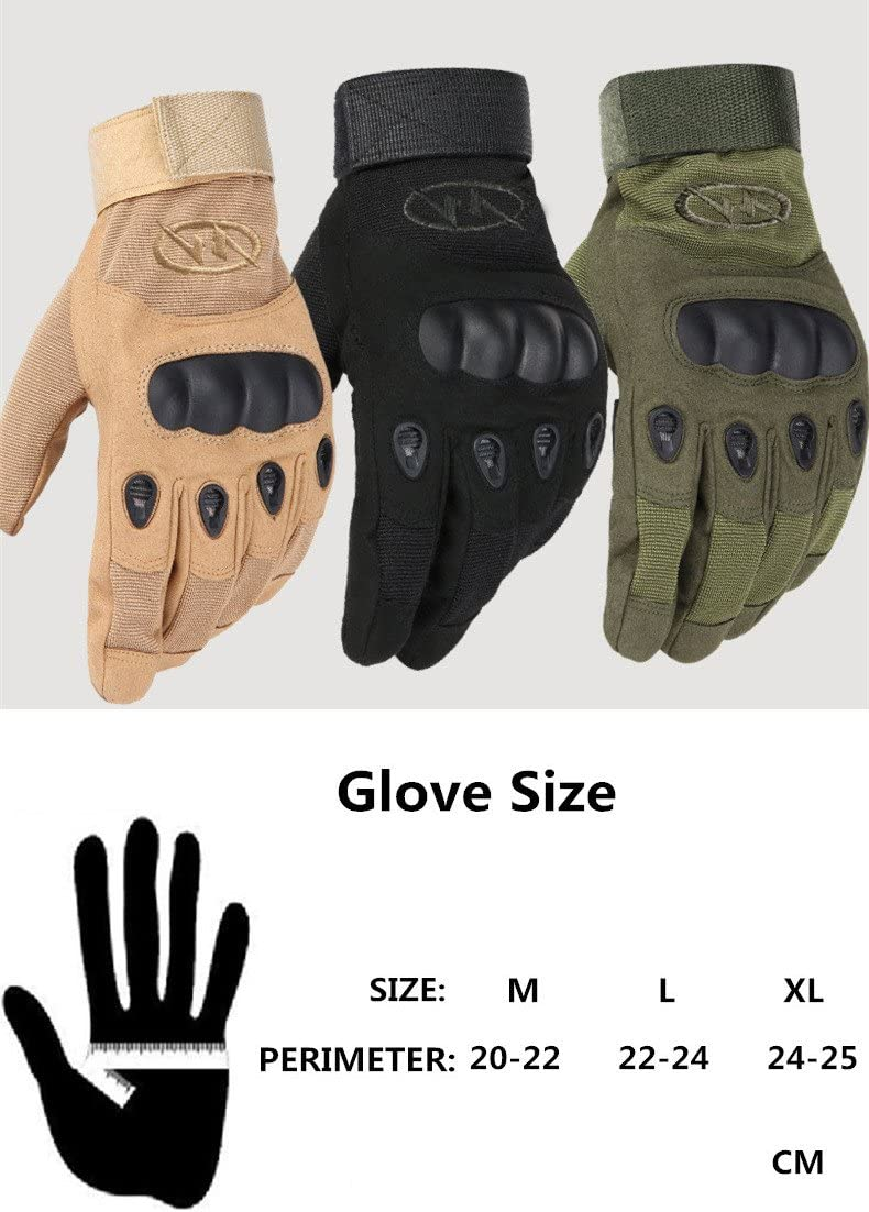 Warring States/® Army Military Tactical Gloves Men s Sport Outdoor Full Finger Combat Motocycle Slip Resistant Carbon Fiber Tortoise Shell